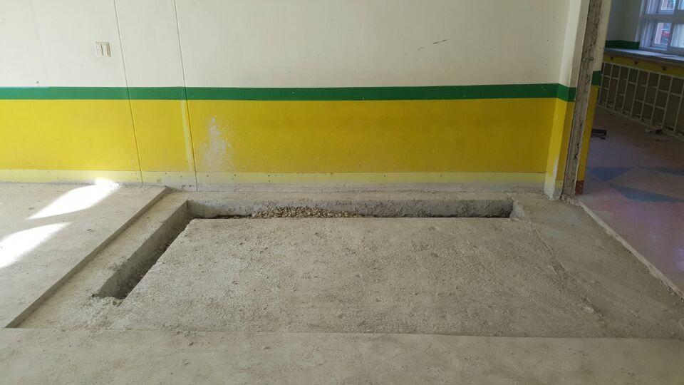 3 번째 사진  에  연면적137.84 ㎡ 울산 울주군 어린이집 겨울방학 천저텍스 석면처리 현장