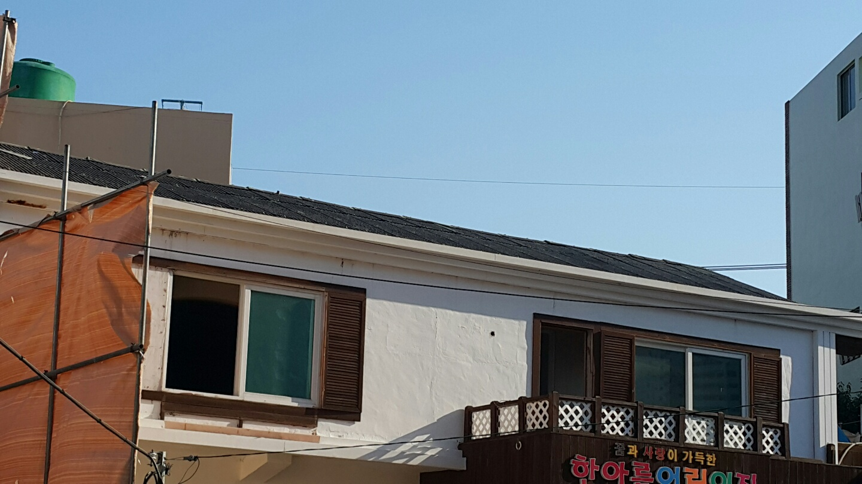 3 번째 사진  에  연면적106 ㎡ 부산시 금정구 범어천로 슬레이트지붕철거 한아름어린이집 석면해체 제거