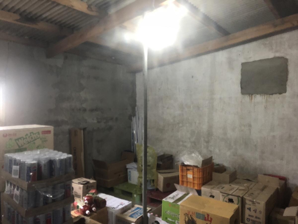 5 번째 사진 창고시설 에  연면적542.04 ㎡ 경상남도 고성군 영오면 슬레이트 건축물 철거 전 석면조사