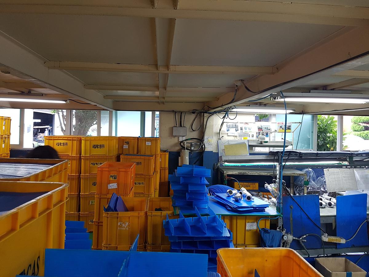 6 번째 사진 공장시설 에  연면적492.15 ㎡ 부산 기장군 정관면 공장시설 석면조사