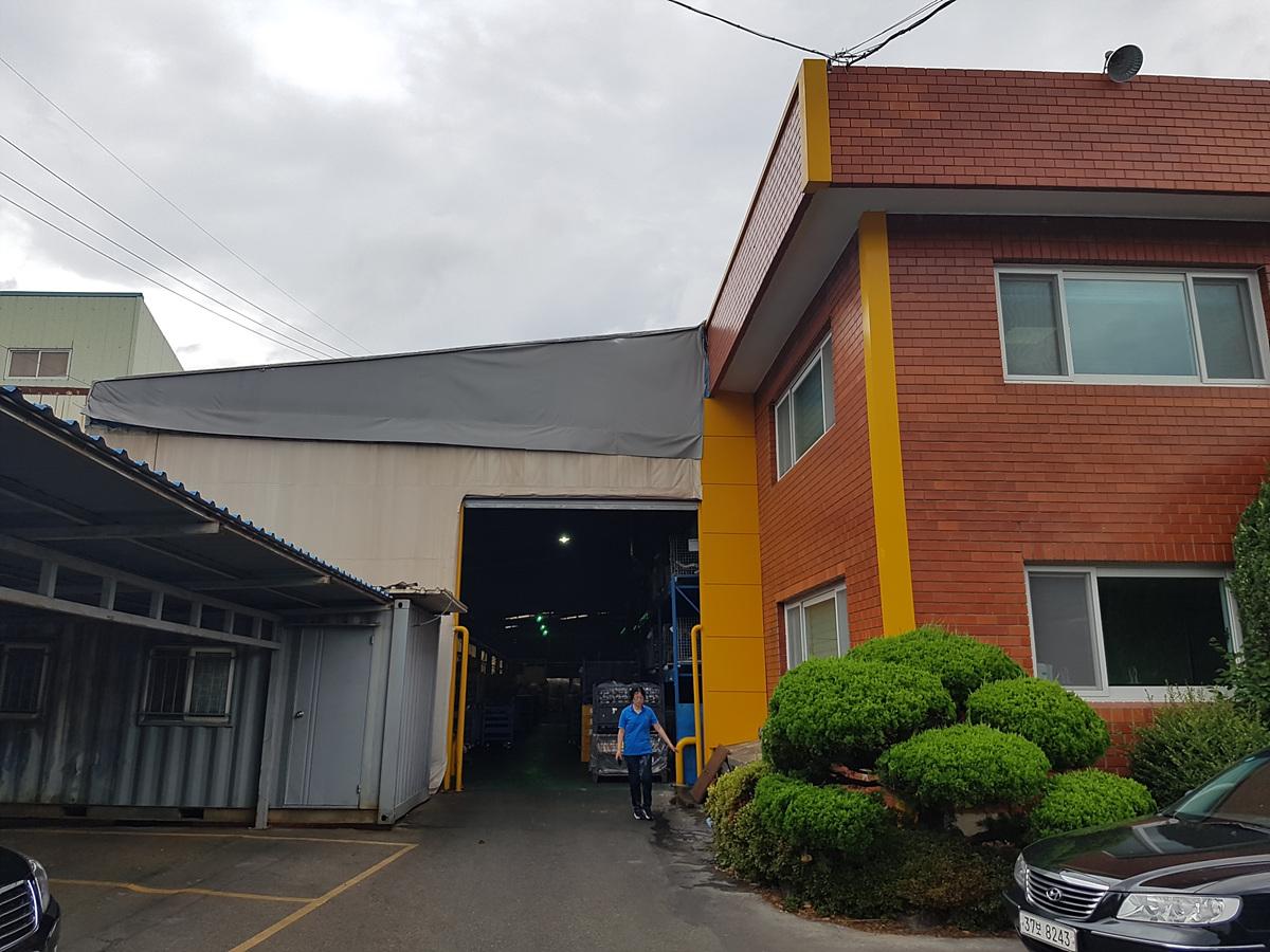 1 번째 사진 공장시설 에  연면적492.15 ㎡ 부산 기장군 정관면 공장시설 석면조사