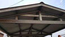 부산시 강동동 창고 슬레이트 지붕 석면철거 현장