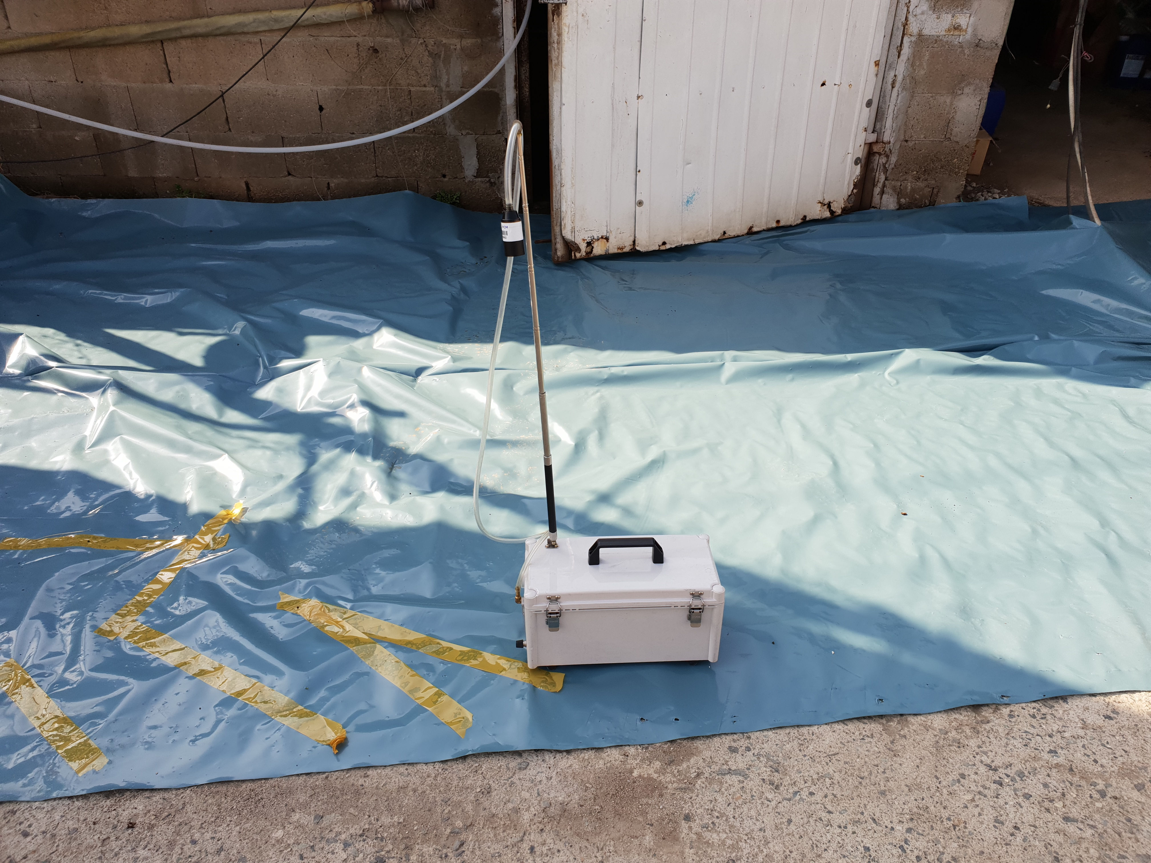 4 번째 사진 대창면 대창리 철거공사 에  연면적1440.99 ㎡ 영천시 대창면 대창리 철거공사에 대한 석면공기질측정