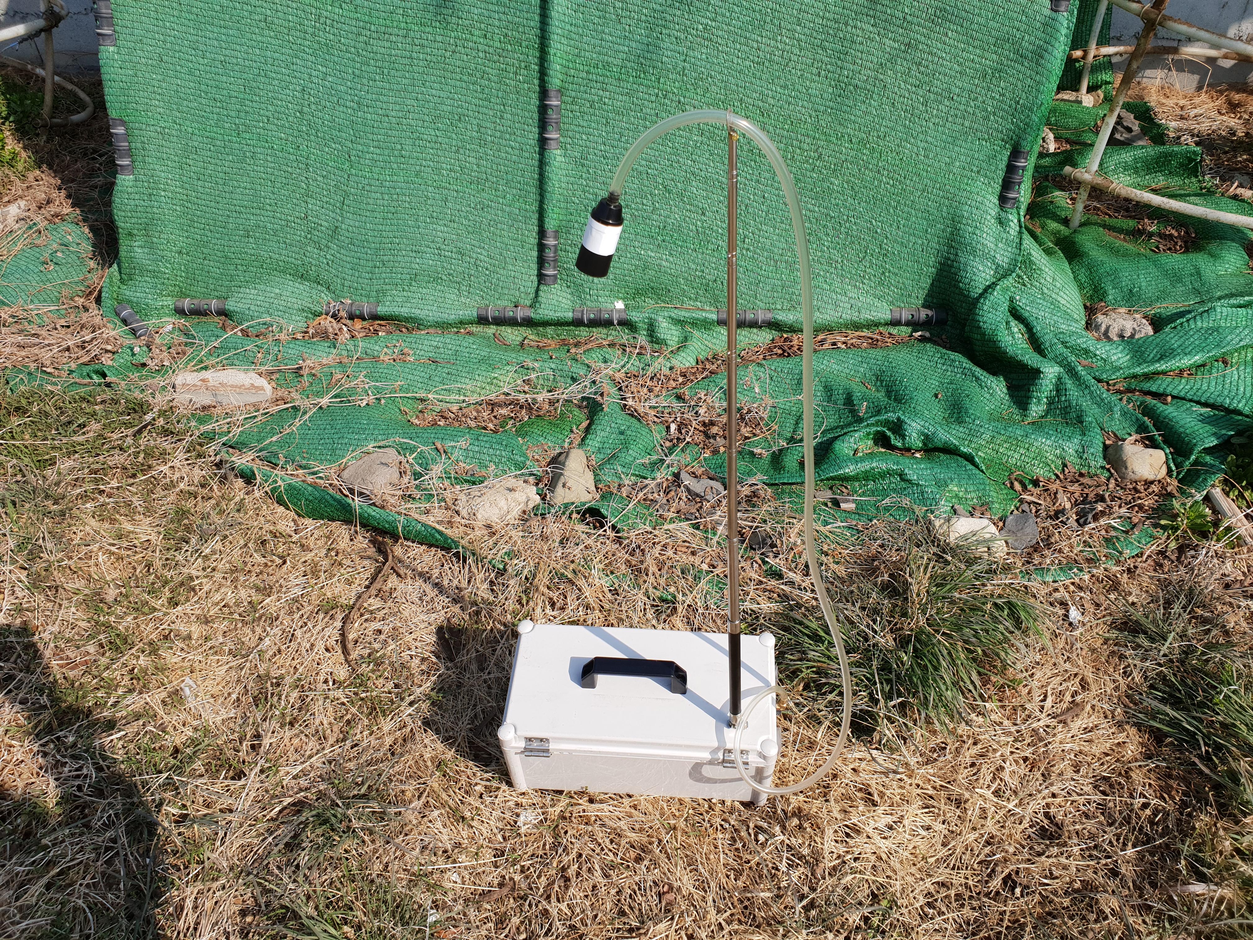 7 번째 사진 대창면 대창리 철거공사 에  연면적1440.99 ㎡ 영천시 대창면 대창리 철거공사에 대한 석면공기질측정
