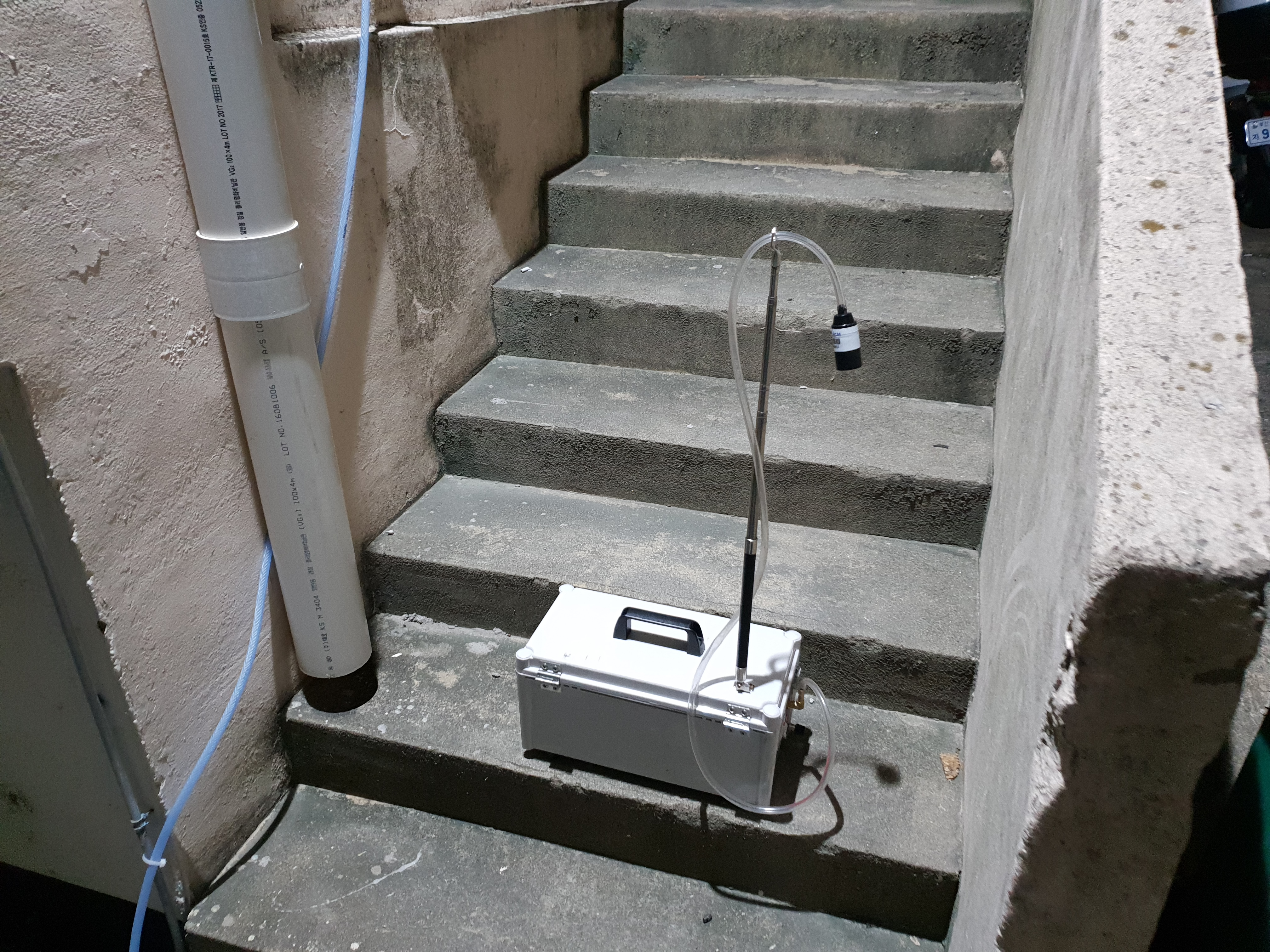 4 번째 사진 부산동부경찰서 에  연면적 ㎡ 동구 중앙대로 387 농도측정, 비산농도측정