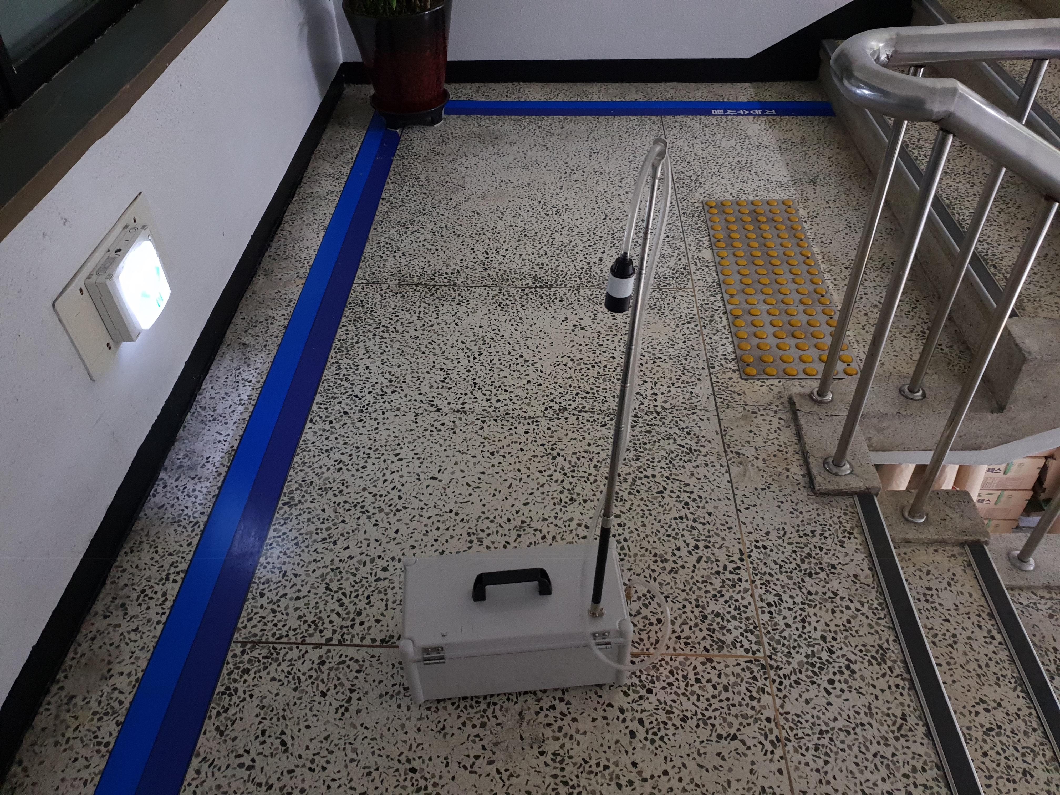 7 번째 사진 부산동부경찰서 에  연면적 ㎡ 동구 중앙대로 387 농도측정, 비산농도측정