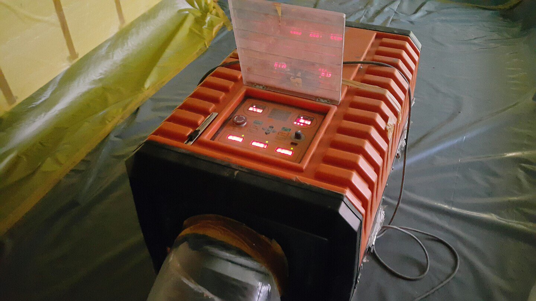 14 번째 사진  에  연면적911.08 ㎡ 장유누가병원 장례식장 내부공사를 위한 석면해체 제거