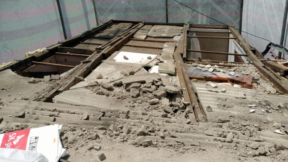4 번째 사진 판매시설 에  연면적50 ㎡ 부산시 영도구 꿈나무길 슬레이트지붕 누수로인한 철거
