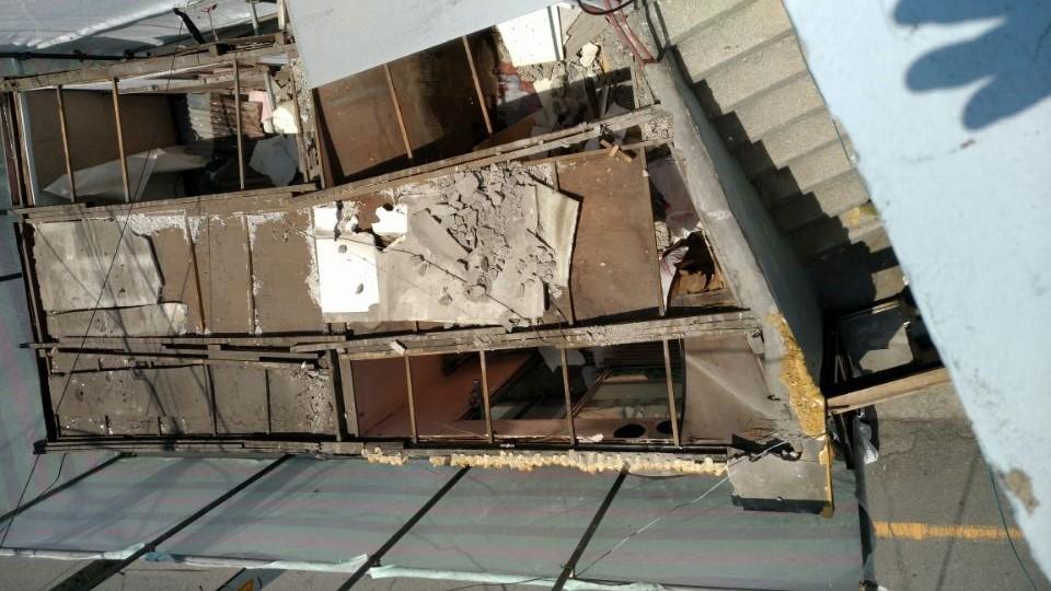 5 번째 사진 판매시설 에  연면적50 ㎡ 부산시 영도구 꿈나무길 슬레이트지붕 누수로인한 철거
