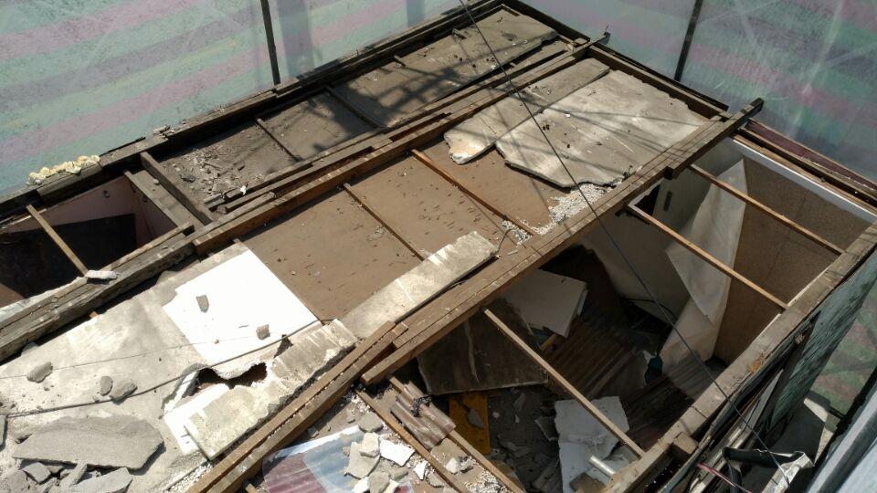 6 번째 사진 판매시설 에  연면적50 ㎡ 부산시 영도구 꿈나무길 슬레이트지붕 누수로인한 철거