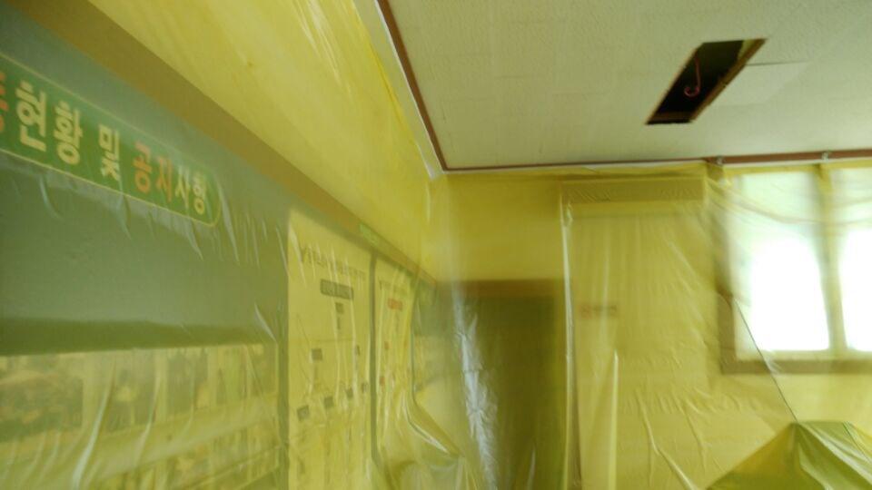 7 번째 사진  에  연면적280.7 ㎡ 울산 울주군 상북면 전하119안전센터 석면해체제거