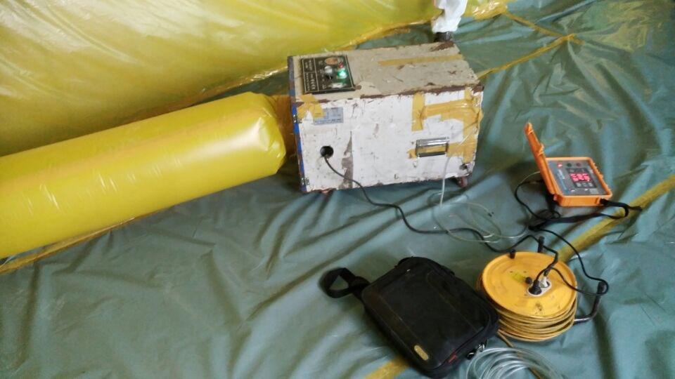 14 번째 사진  에  연면적280.7 ㎡ 울산 울주군 상북면 전하119안전센터 석면해체제거
