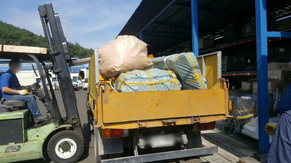 18 번째 사진  에  연면적135.42 ㎡ 부산시 기장군 정관읍 공장 슬레이트해체