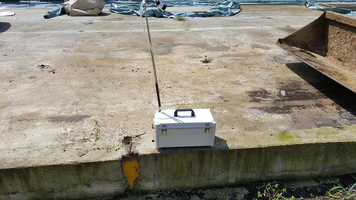 1 번째 사진 발전시설 에  연면적1454.37 ㎡ 경상북도 경산시 와촌면 상암길 비산농도측정
