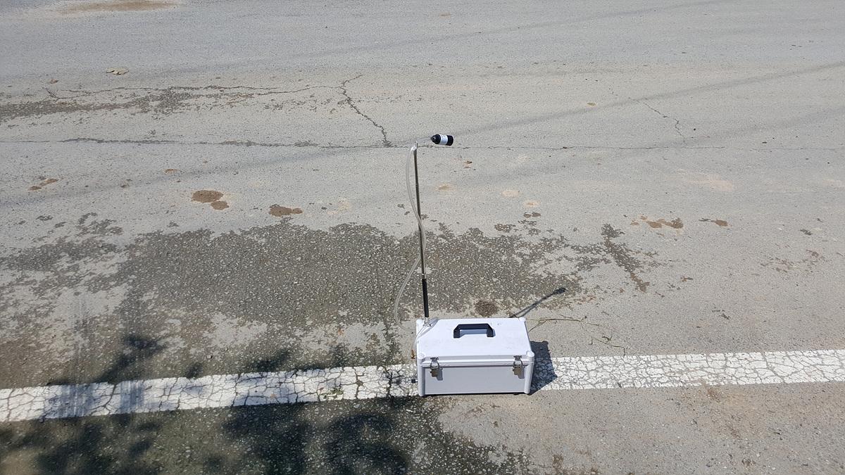 3 번째 사진 발전시설 에  연면적1454.37 ㎡ 경상북도 경산시 와촌면 상암길 비산농도측정