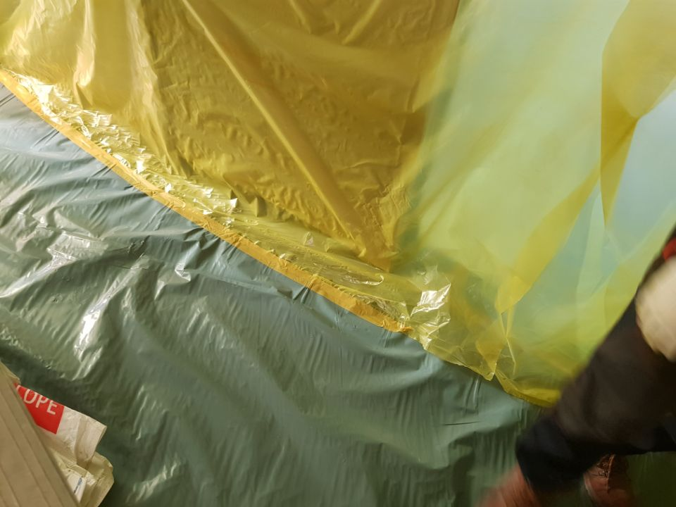 6 번째 사진  에  연면적66 ㎡ 경상남도 양산시 삼성7길 공장 사무실 천정텍스 석면해체 제거