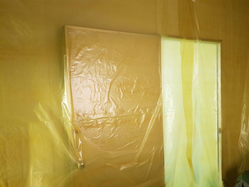 7 번째 사진  에  연면적66 ㎡ 경상남도 양산시 삼성7길 공장 사무실 천정텍스 석면해체 제거