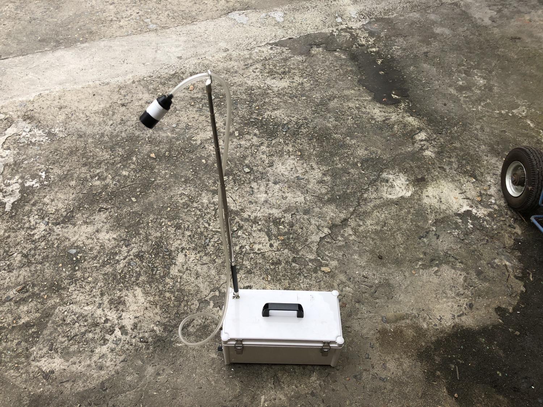 1 번째 사진  에  연면적5944.95 ㎡ 경상남도 양산시 산막공단로 석면철거 공사에 관한 비산농도측정