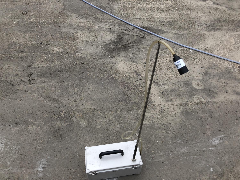 3 번째 사진  에  연면적5944.95 ㎡ 경상남도 양산시 산막공단로 석면철거 공사에 관한 비산농도측정