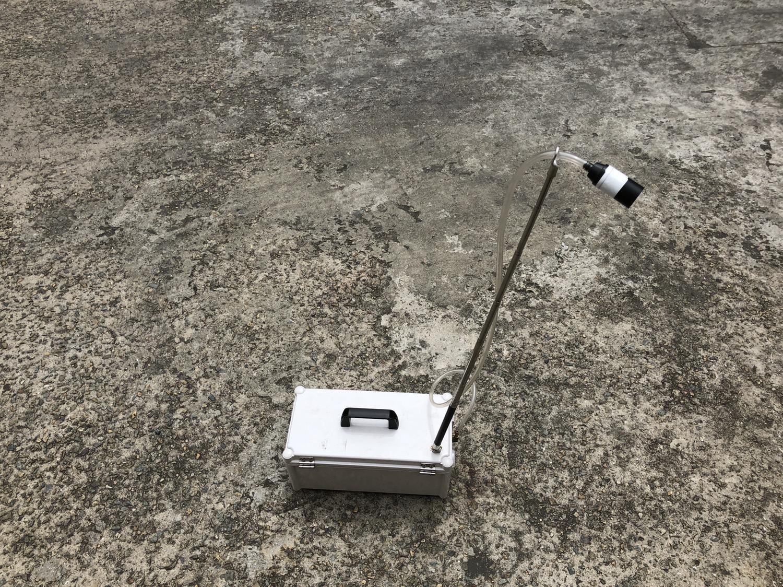 4 번째 사진  에  연면적5944.95 ㎡ 경상남도 양산시 산막공단로 석면철거 공사에 관한 비산농도측정