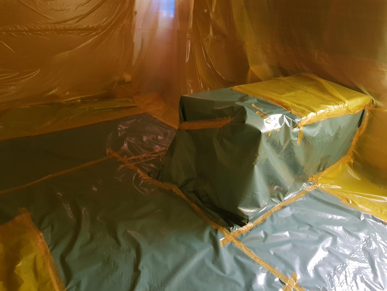 10 번째 사진  에  연면적165 ㎡ 부산시 동래구 사직동 텍스 석면철거 공사