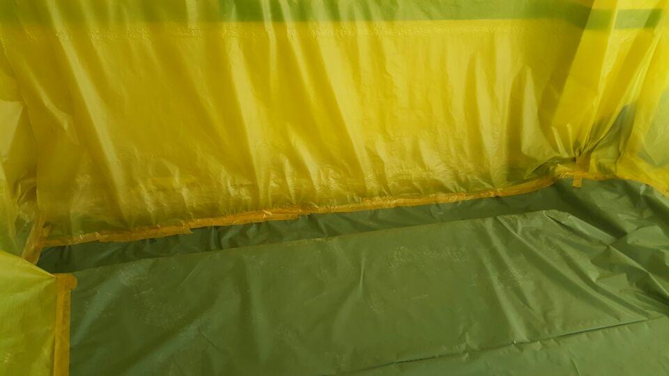 8 번째 사진  에  연면적137.84 ㎡ 울산 울주군 어린이집 겨울방학 천저텍스 석면처리 현장
