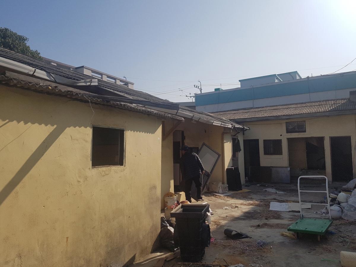 1 번째 사진 단독주택 에  연면적138.86 ㎡ 부산광역시 동래구 안락동 슬레이트 주택 석면조사