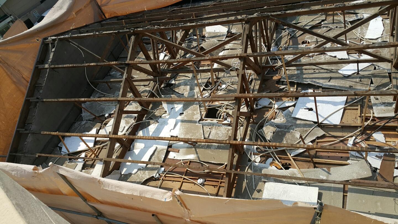 18 번째 사진  에  연면적106 ㎡ 부산시 금정구 범어천로 슬레이트지붕철거 한아름어린이집 석면해체 제거