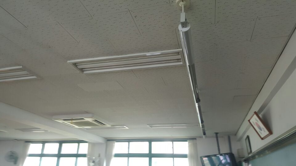 3 번째 사진  에  연면적621.02 ㎡ 부산시 사하구 괴정동 동주중학교 5층 일부 석면해체제거 석면철거현장