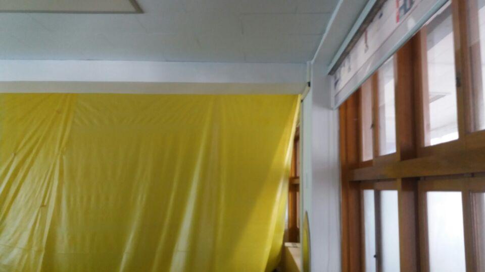 6 번째 사진  에  연면적129.6 ㎡ 부산시 연제구 거제초등학교 냉난방교체에 따른 석면텍스철거공사