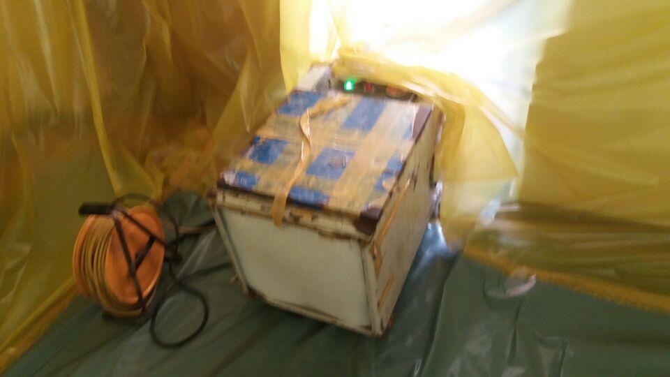 11 번째 사진  에  연면적129.6 ㎡ 부산시 연제구 거제초등학교 냉난방교체에 따른 석면텍스철거공사