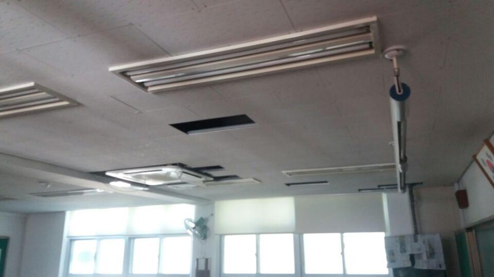 18 번째 사진  에  연면적129.6 ㎡ 부산시 연제구 거제초등학교 냉난방교체에 따른 석면텍스철거공사