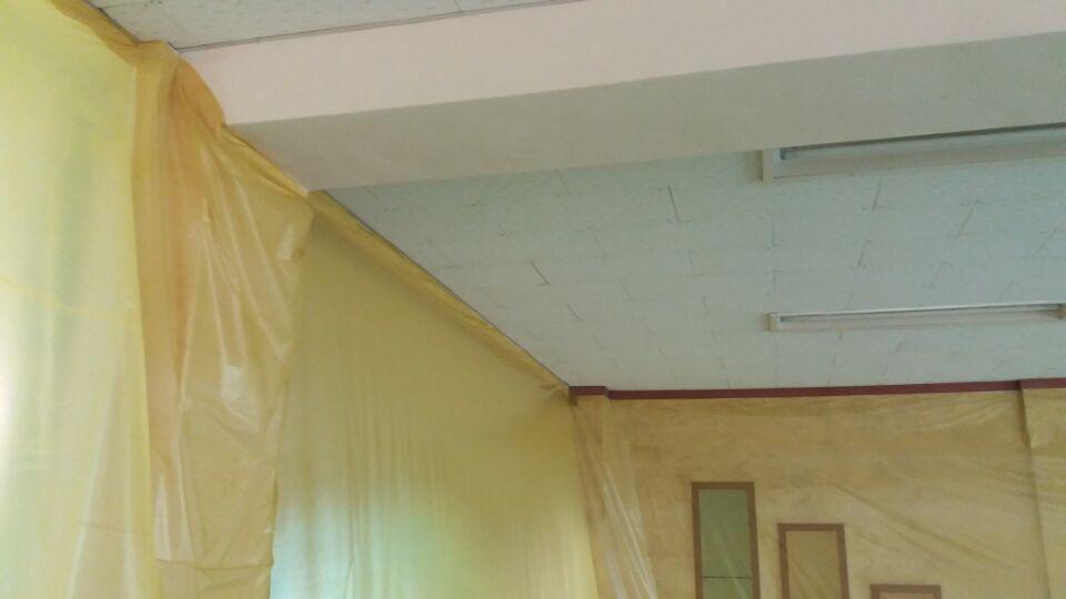 7 번째 사진  에  연면적135.58 ㎡ 부산시 금정구 서명초등학교 1층 일부 석면텍스철거