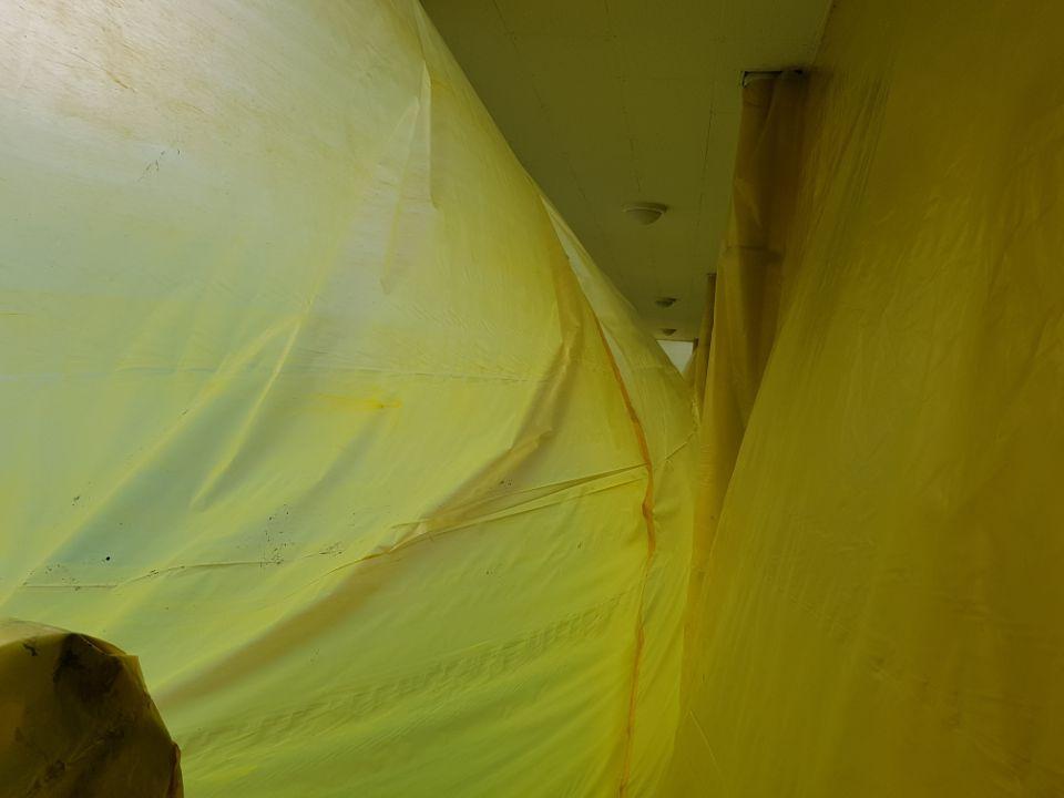 6 번째 사진  에  연면적215 ㎡ 부산시 북구 북구 금곡대로 행복신협 1,2층 텍스/밤라이트 석면해체 제거