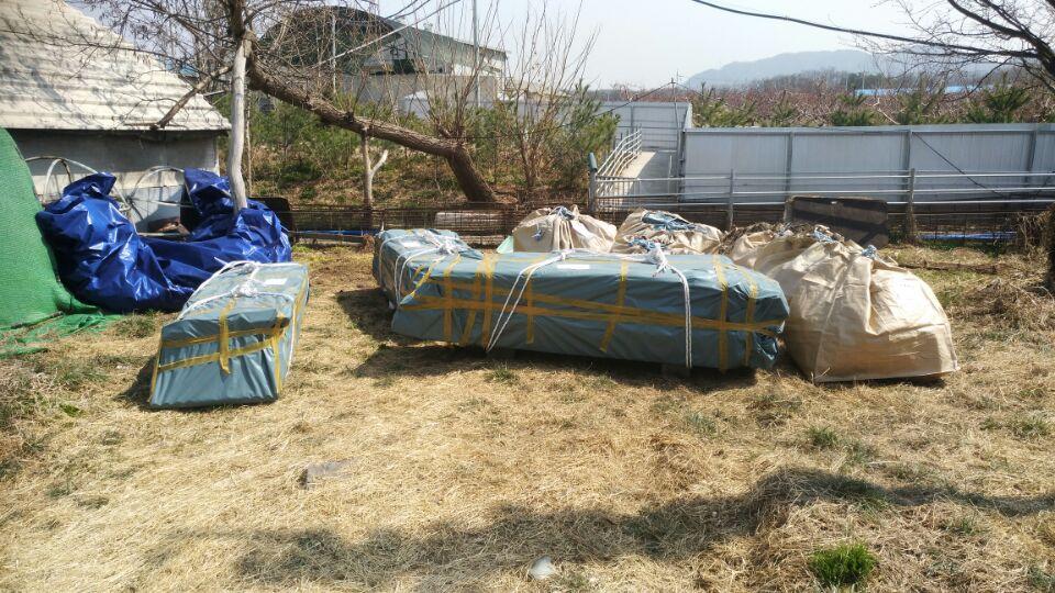 14 번째 사진  에  연면적787 ㎡ 경북 영천시 대창면 명성농장 슬레이트지붕 석면철거