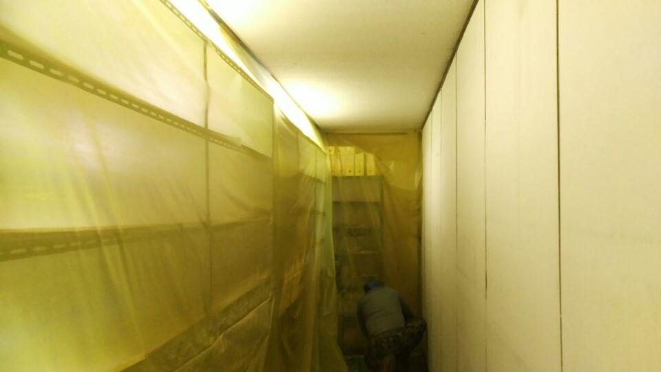 6 번째 사진  에  연면적159.5 ㎡ 부산시 금정구 중앙대로 금정구청 청사동 텍스, 밤라이트 석면해체 제거
