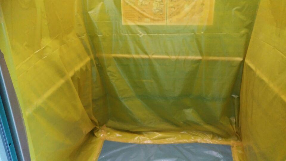 9 번째 사진  에  연면적159.5 ㎡ 부산시 금정구 중앙대로 금정구청 청사동 텍스, 밤라이트 석면해체 제거