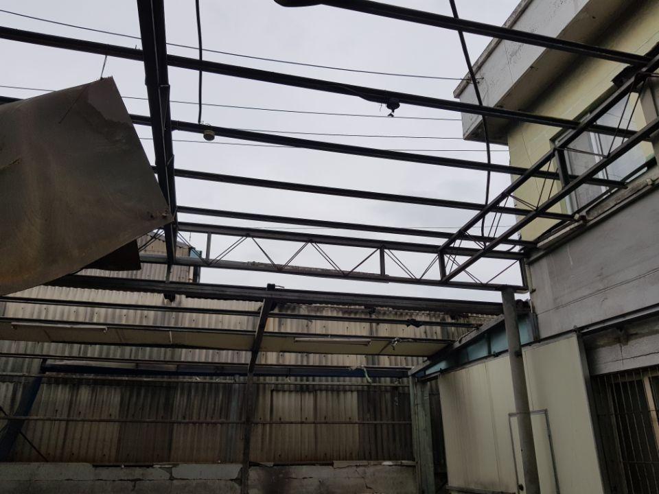 19 번째 사진  에  연면적185.82 ㎡ 부산시 사하구 다대동 공장지붕 석면철거