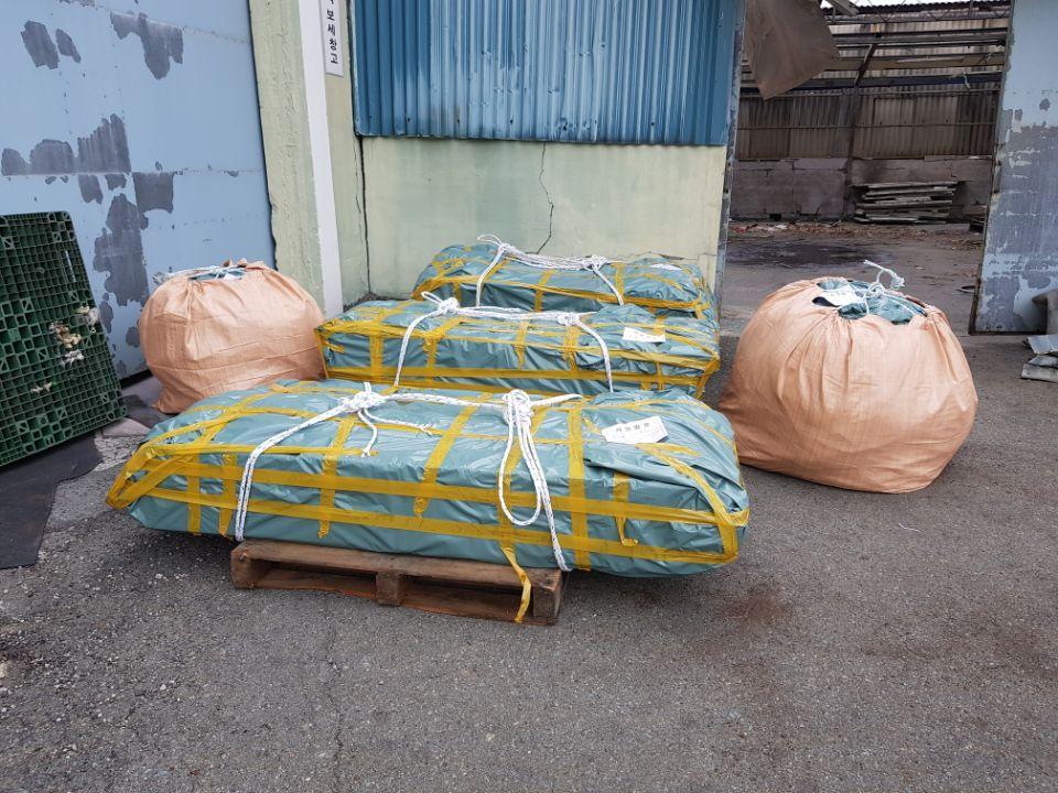 21 번째 사진  에  연면적185.82 ㎡ 부산시 사하구 다대동 공장지붕 석면철거