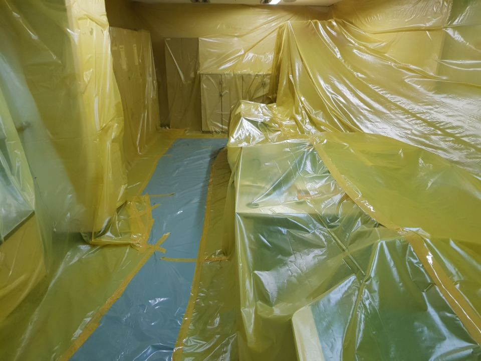 11 번째 사진  에  연면적368.03 ㎡ 울산 북구 홈플러스 석면텍스해체 공사