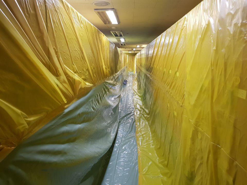 12 번째 사진  에  연면적368.03 ㎡ 울산 북구 홈플러스 석면텍스해체 공사