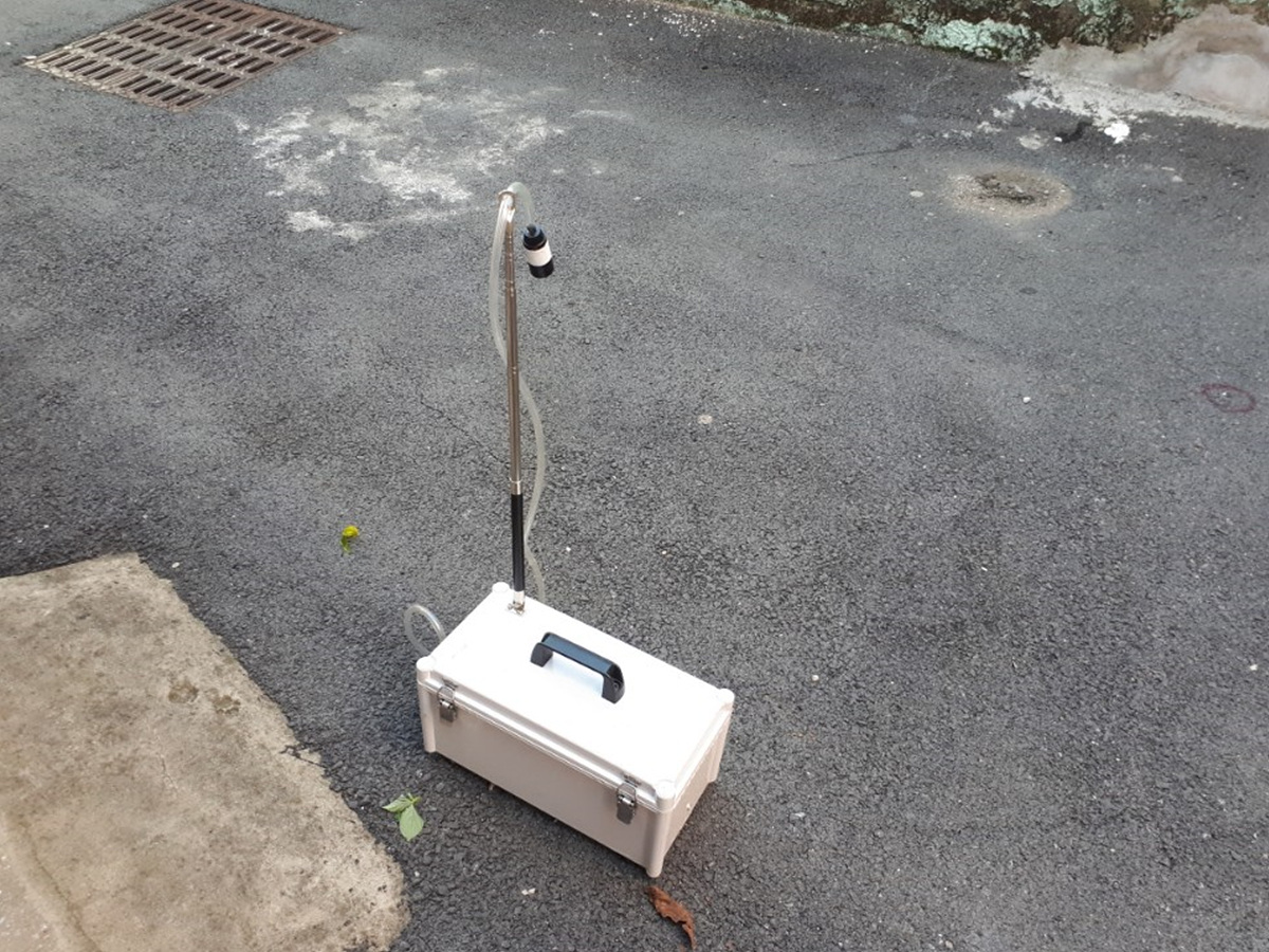 3 번째 사진  에  연면적 ㎡ 부산광역시 부산진구 부암동 서면더스카이주상복합 석면비산농도측정