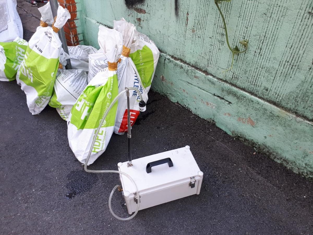 10 번째 사진  에  연면적 ㎡ 부산광역시 부산진구 부암동 서면더스카이주상복합 석면비산농도측정