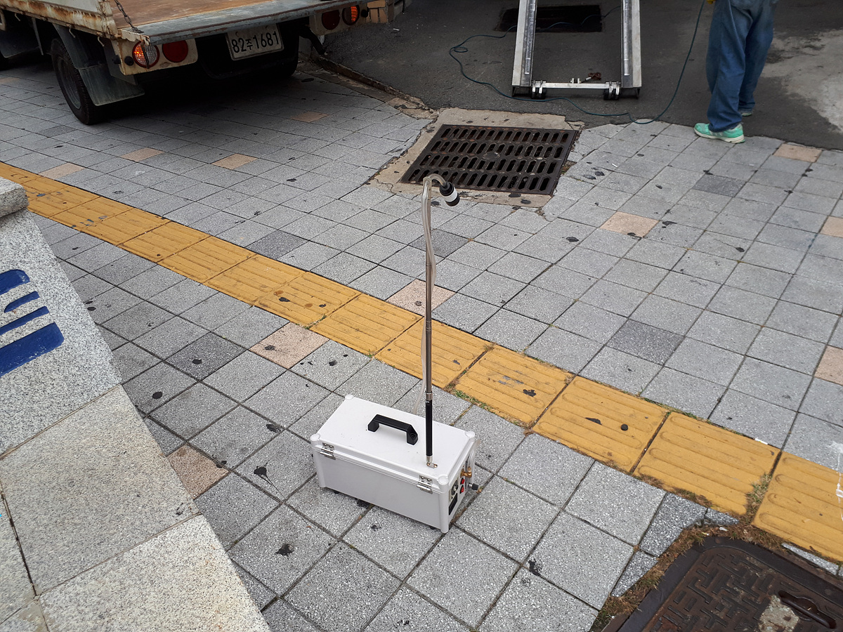 13 번째 사진  에  연면적 ㎡ 부산광역시 부산진구 부암동 서면더스카이주상복합 석면비산농도측정