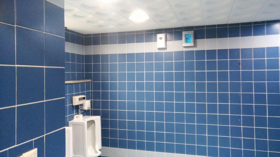 13 번째 사진  에  연면적49 ㎡ 부산시 금정구청 화장실 밤라이트 석면해체 제거현장