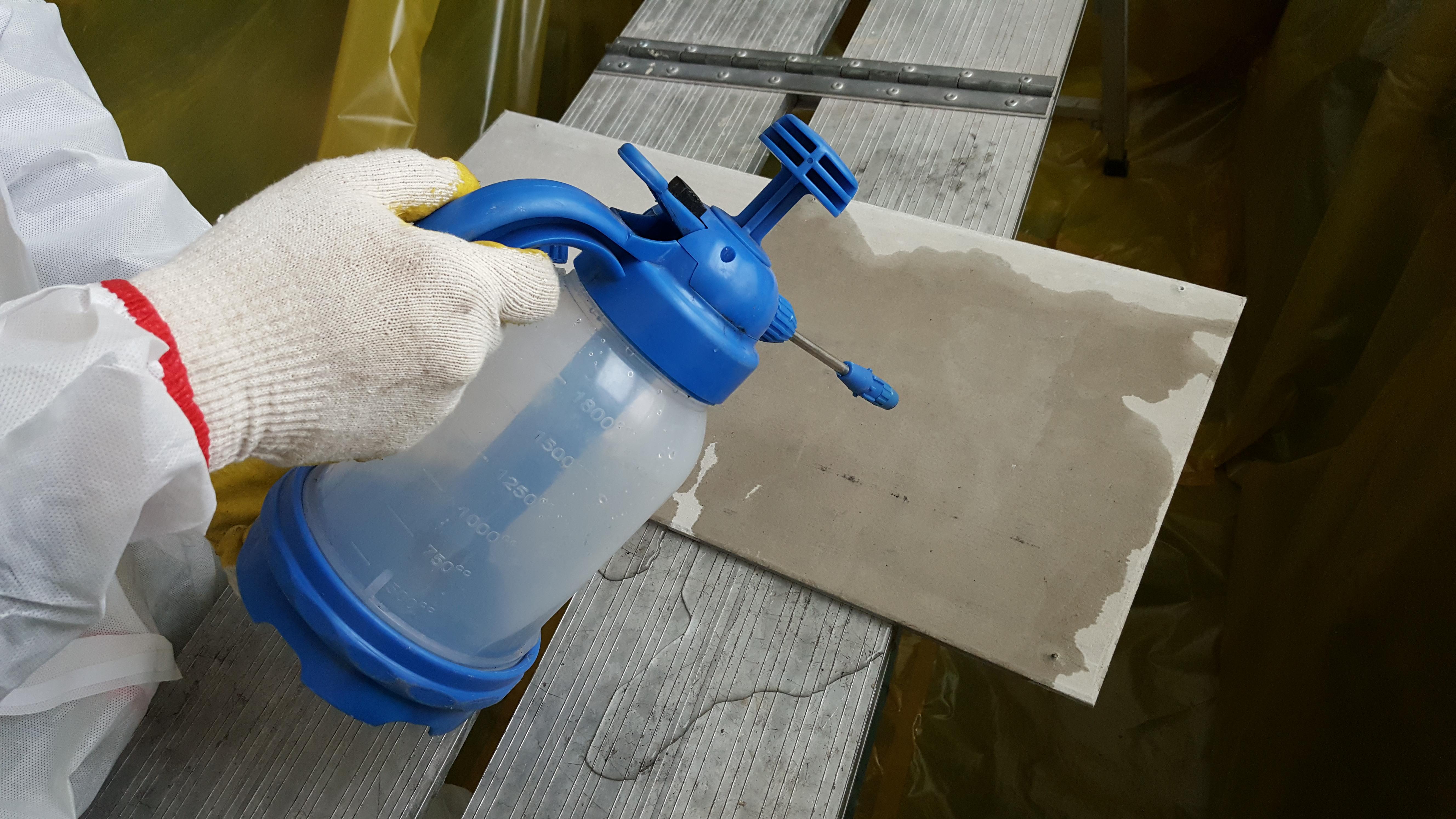 13 번째 사진  에  연면적94.68 ㎡ 부산시 영도구 해양로 공장사무실 2차 천장텍스 석면해체 제거