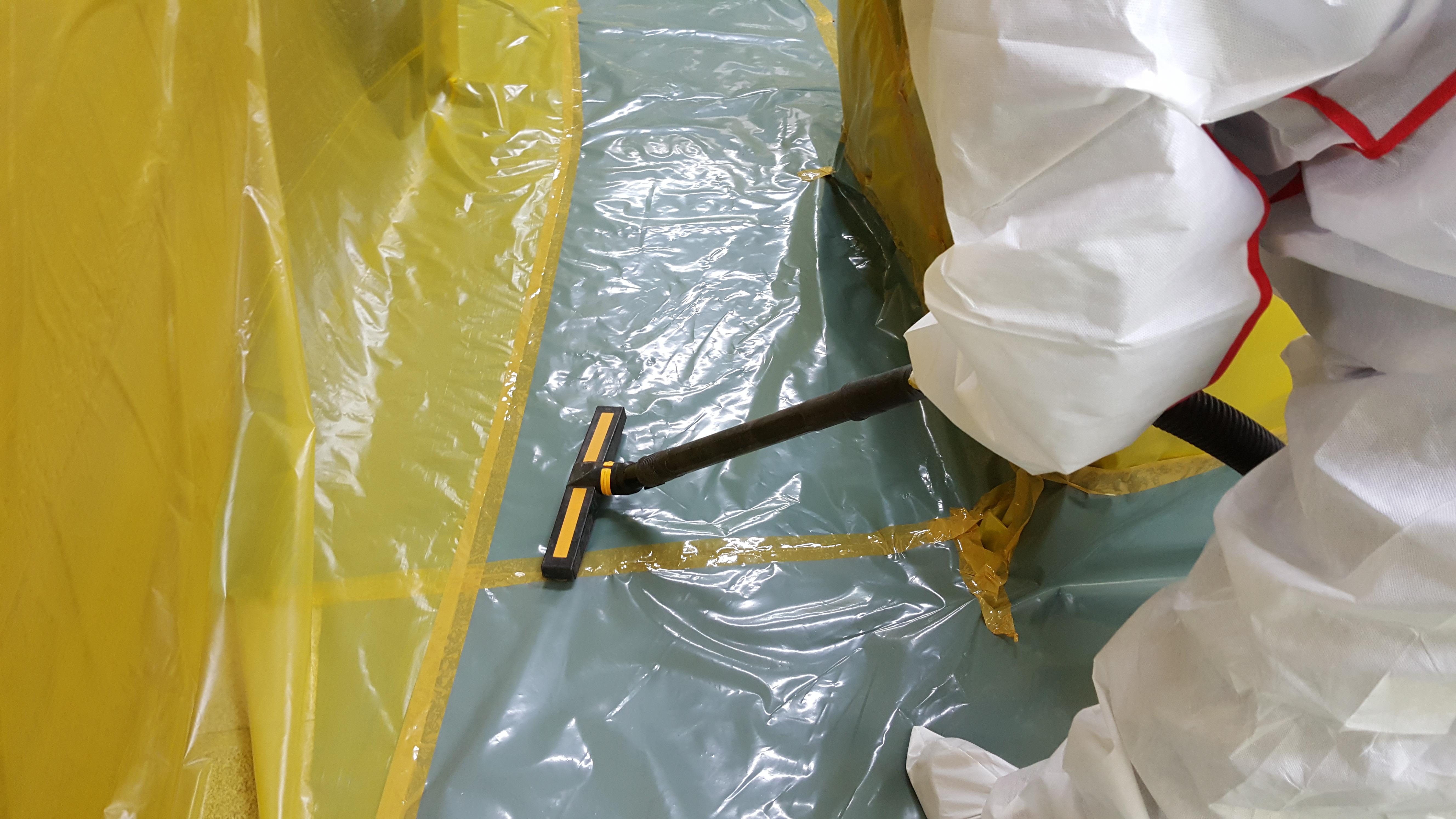 16 번째 사진  에  연면적94.68 ㎡ 부산시 영도구 해양로 공장사무실 2차 천장텍스 석면해체 제거