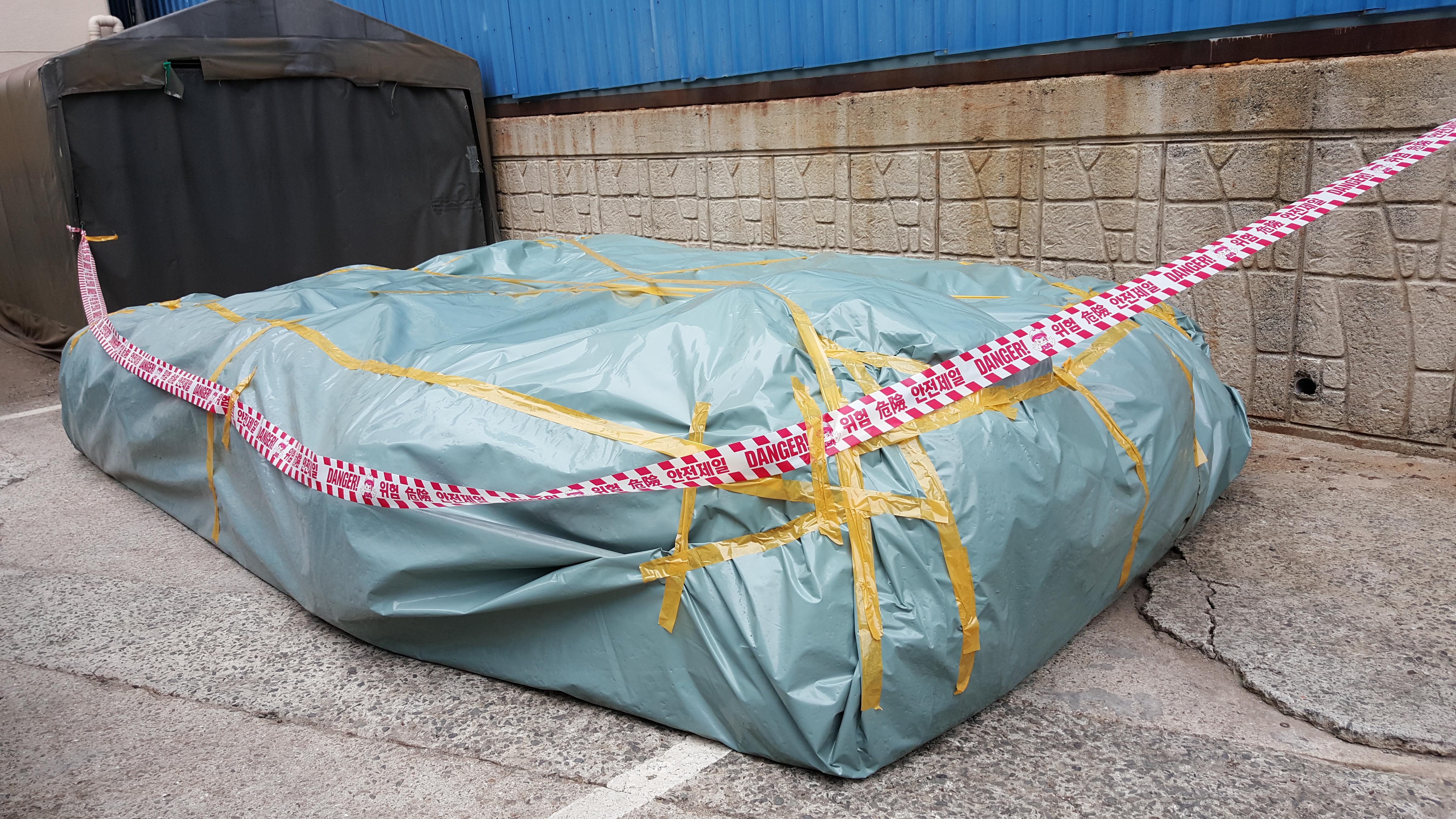 20 번째 사진  에  연면적94.68 ㎡ 부산시 영도구 해양로 공장사무실 2차 천장텍스 석면해체 제거