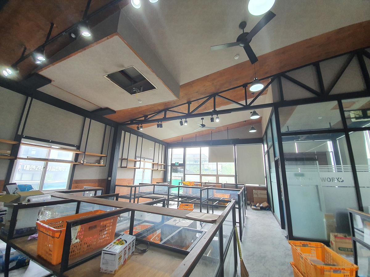9 번째 사진 제1종 근린생활시설 에  연면적851.42 ㎡ 광주 서구 금호동 근린생활시설 석면조사
