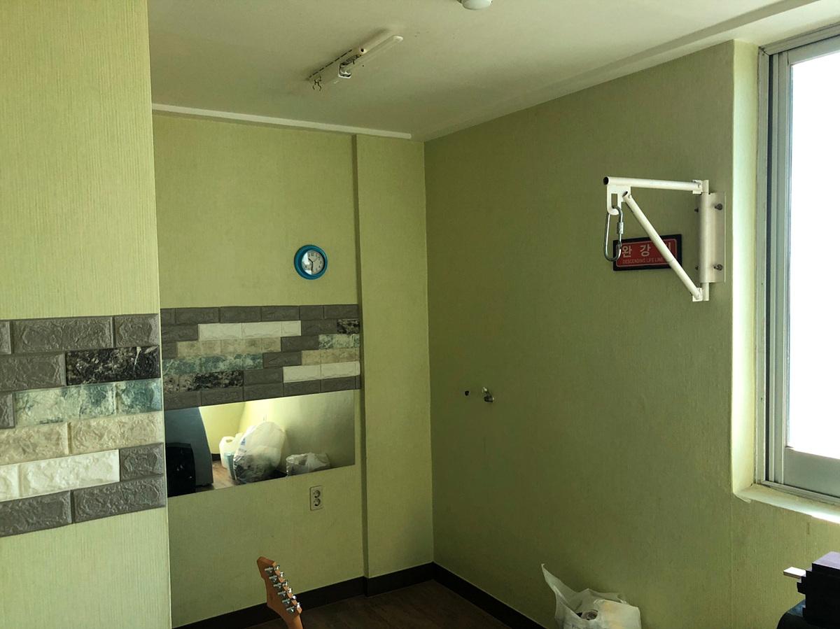 7 번째 사진 제1종 근린생활시설 에  연면적121.46 ㎡ 파둥 실용음악학원 근린생활시설 석면조사